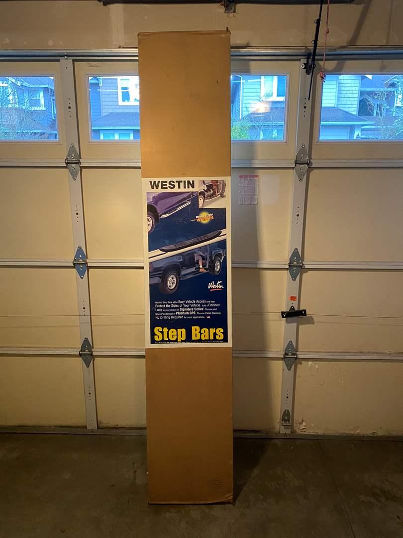 "Lot # 116 - New in Box ""Westin"" Truck Step Bars (main image)"