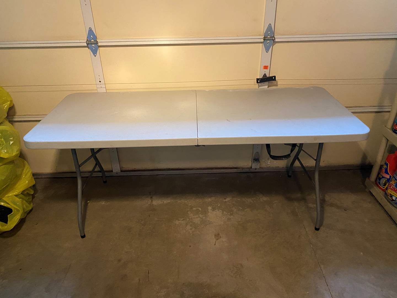 Lot # 158 - Officestar 6' Folding Table (main image)