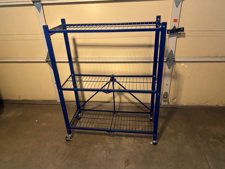 Lot # 159 - Folding Metal Cart  (main image)