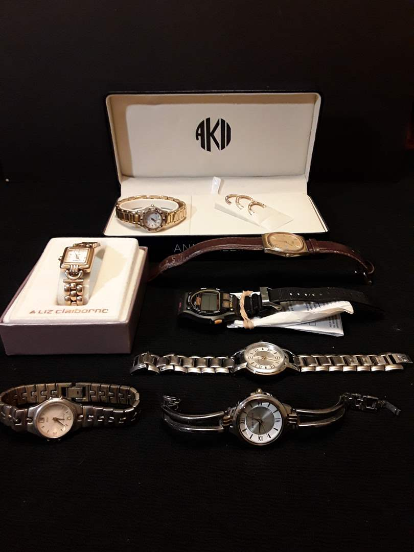 Lot # 75 - Lot of (7) Vintage Watches (main image)