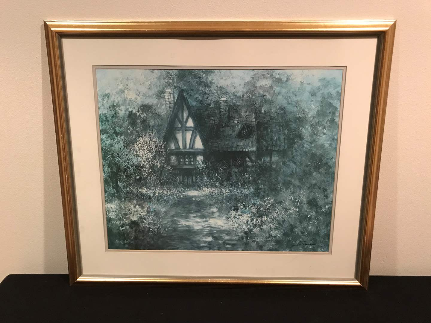 Lot # 56 - Framed and Numbered (188/1000) Print from June K. Schoenhofen (main image)