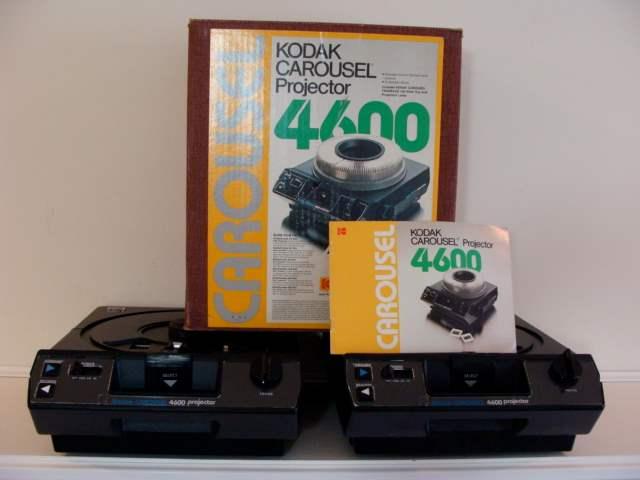 Lot # 88 - Lot of (2) Kodak Carousel Projectors (one in case) (main image)