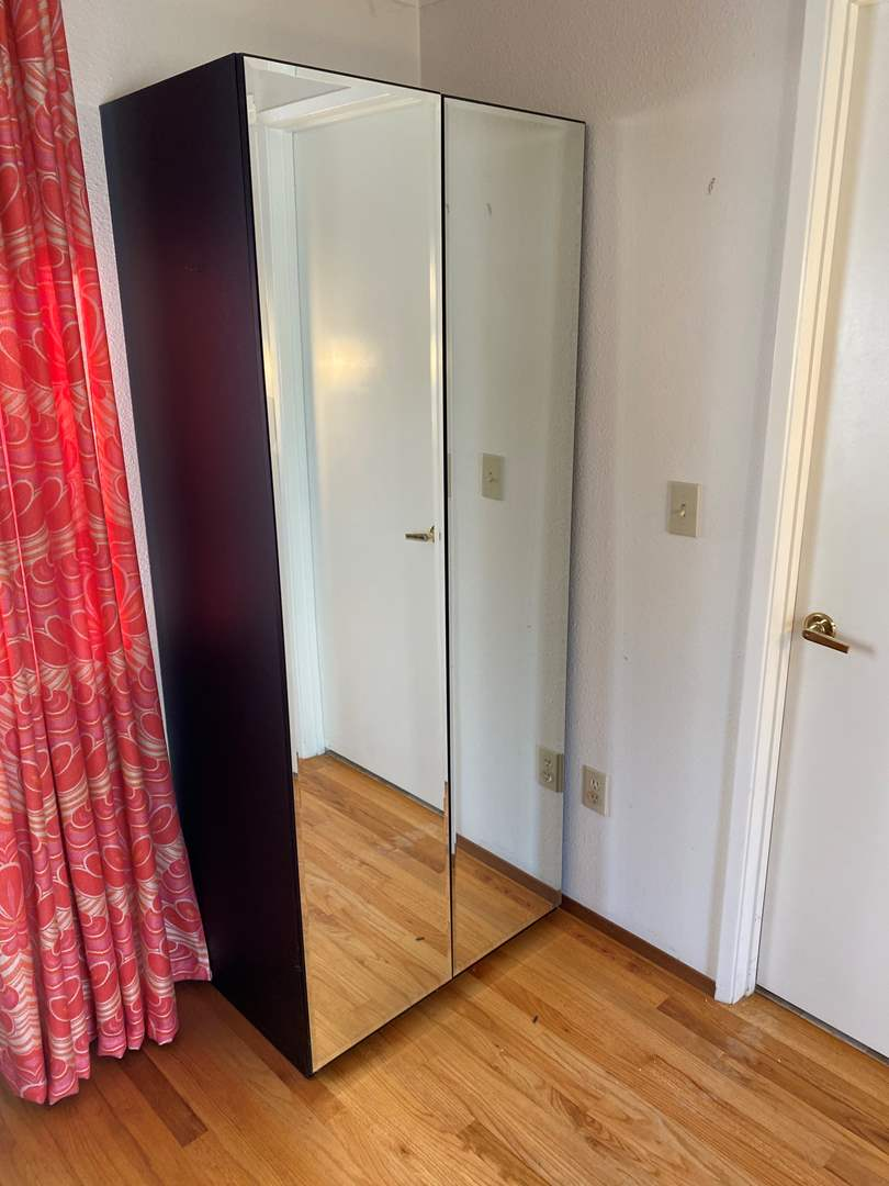 Lot # 13 - Bedroom Closet/Media Center w/Mirror Doors (main image)