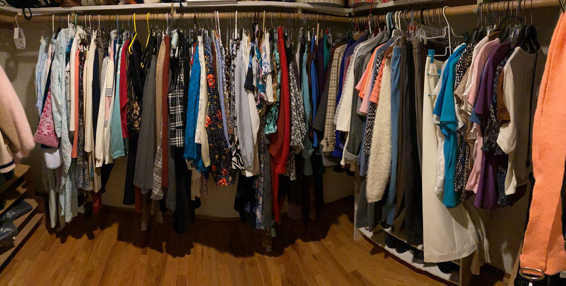 Lot # 27 - Closet Full of Women's Clothing - See Pictures for Brands & Sizes (main image)