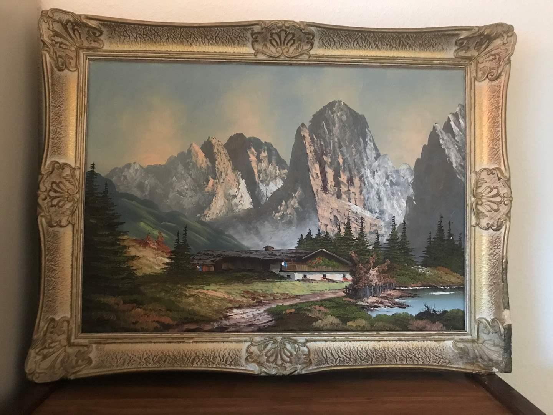 Lot # 113 - Signed Original Oil on Canvas (main image)