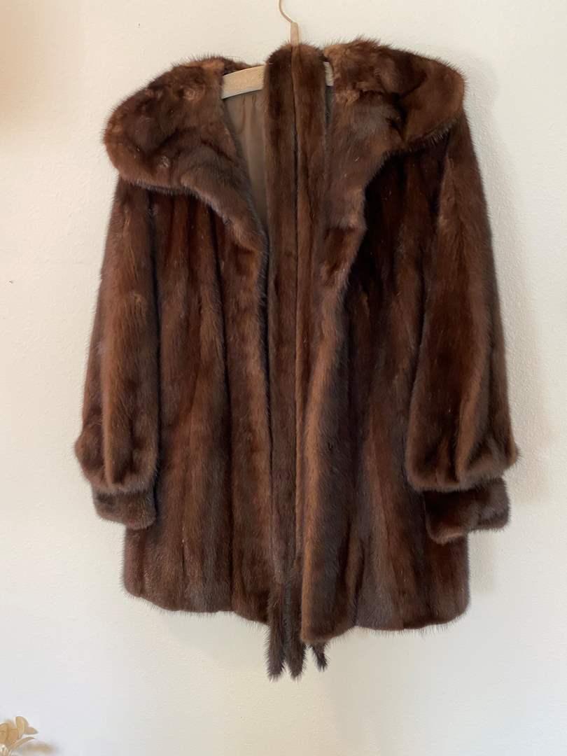 Lot # 46 - Vintage Mink Fur Coat (main image)