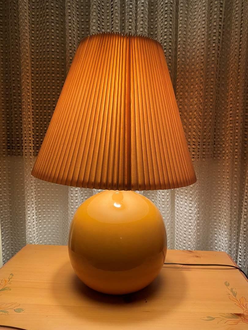 "Lot # 155 - Vintage Mid-Century Style Ceramic Table Lamp - 27"" Tall (main image)"