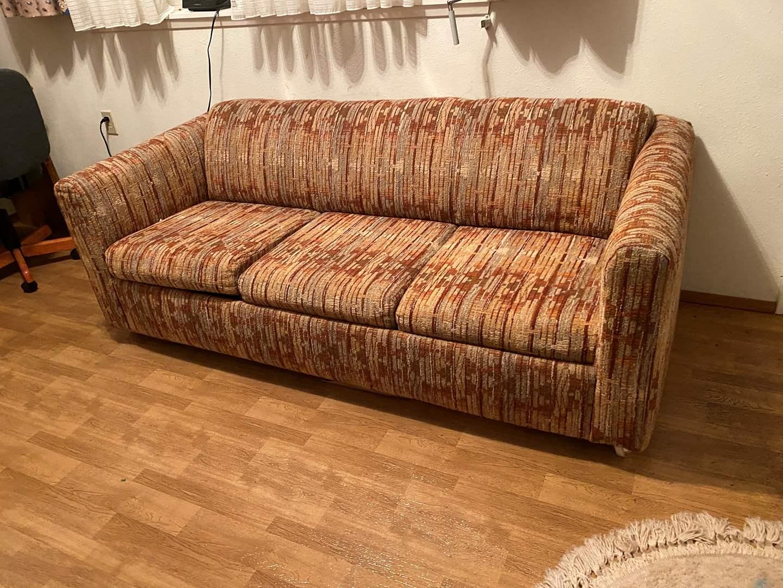 Lot # 229 - Vintage Hide-A-Bed Sofa (main image)