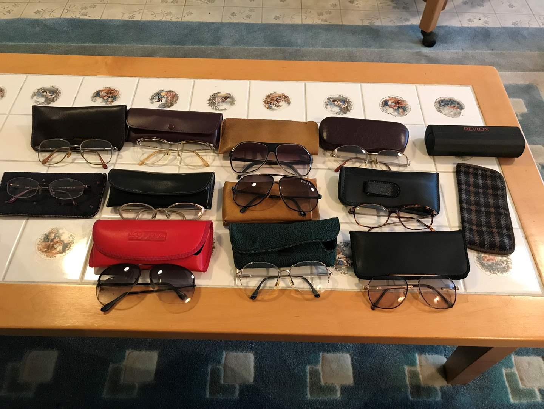 Lot # 204 - Small Selection of Eye Glasses (main image)