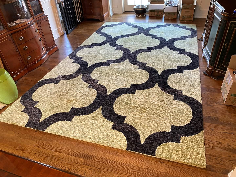 "Lot # 2 - Nice Large Custom Made Wool ""Dalyn-Denali"" Area Rug (main image)"