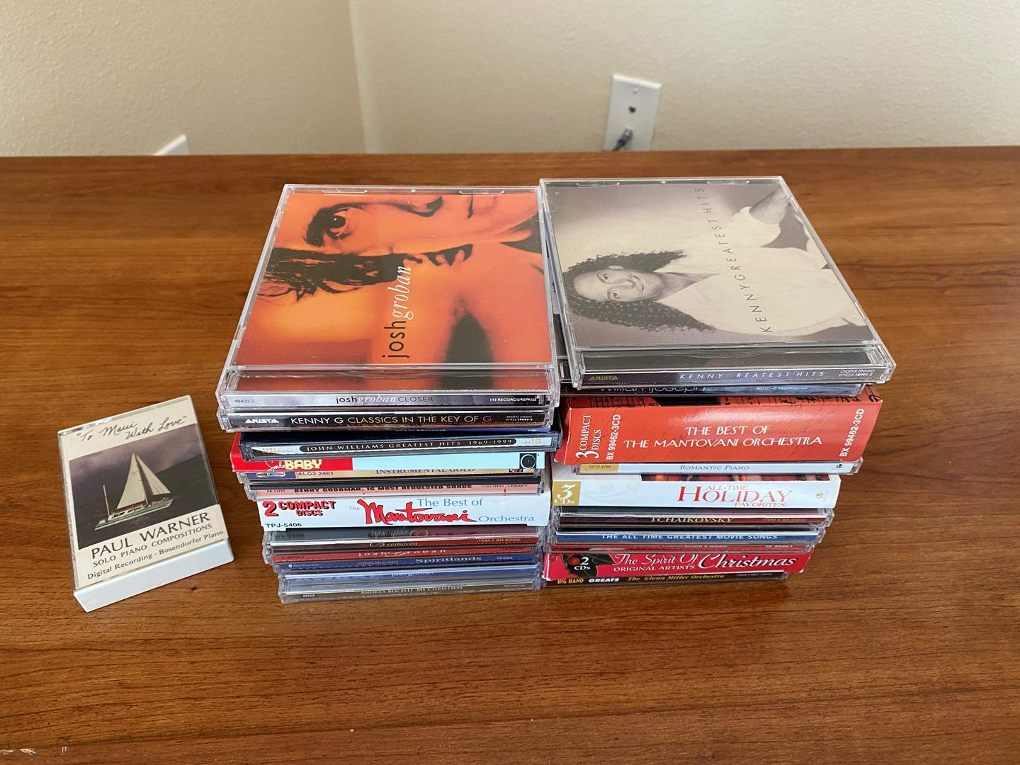 Lot # 26 - Small Collection of Music CD's - See Pictures for Titles (main image)