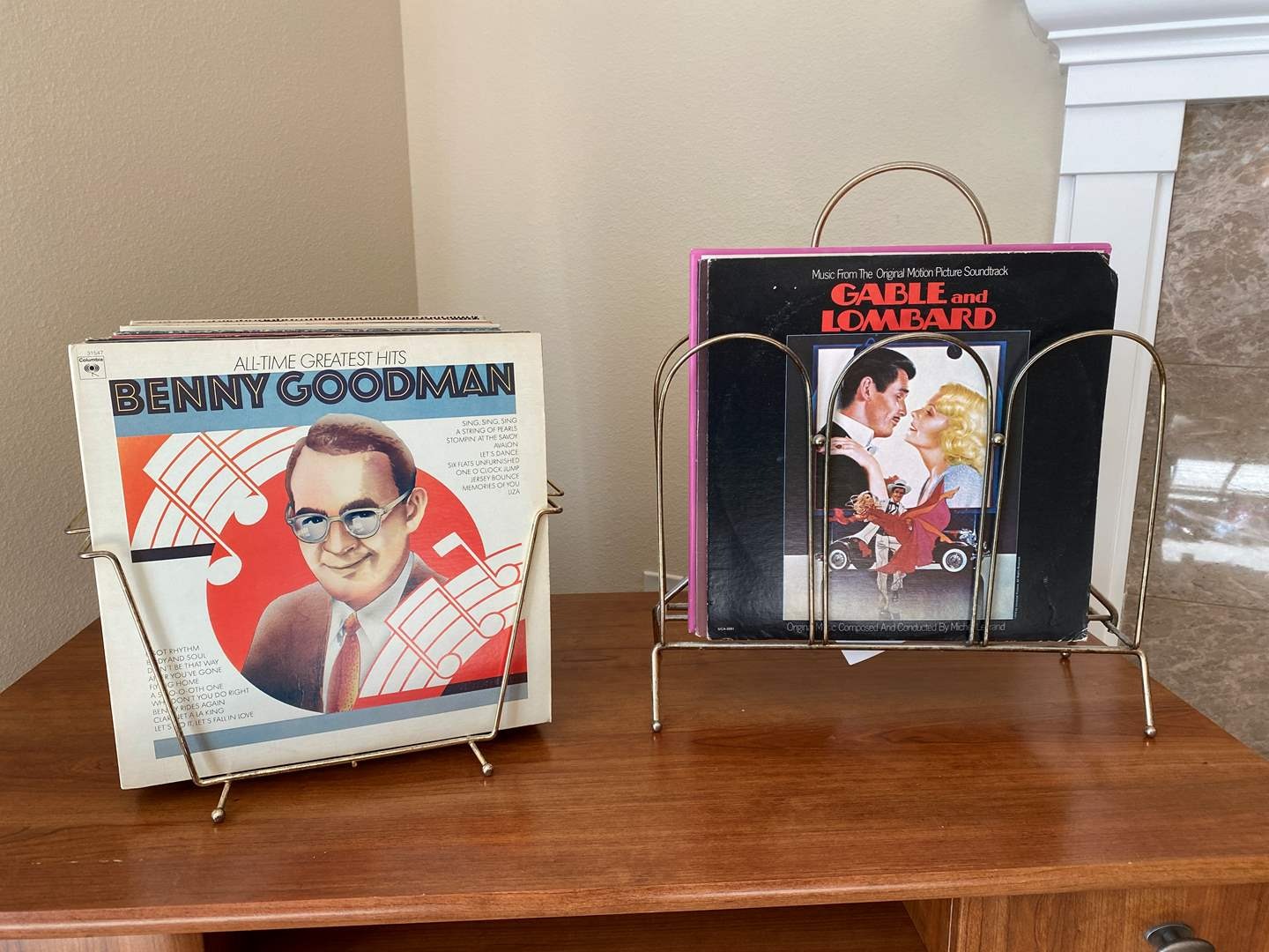Lot # 27 - Two Vintage Album Holders w/Albums & Signed Photo of John Gary (main image)