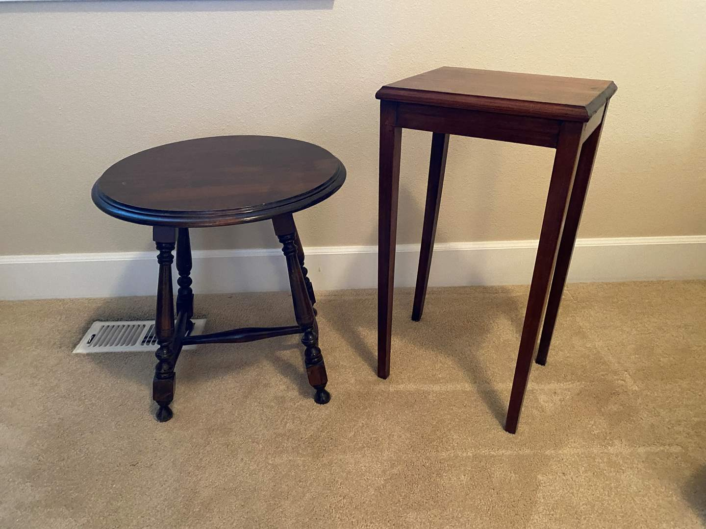 Lot # 31 - Two Side Tables (main image)