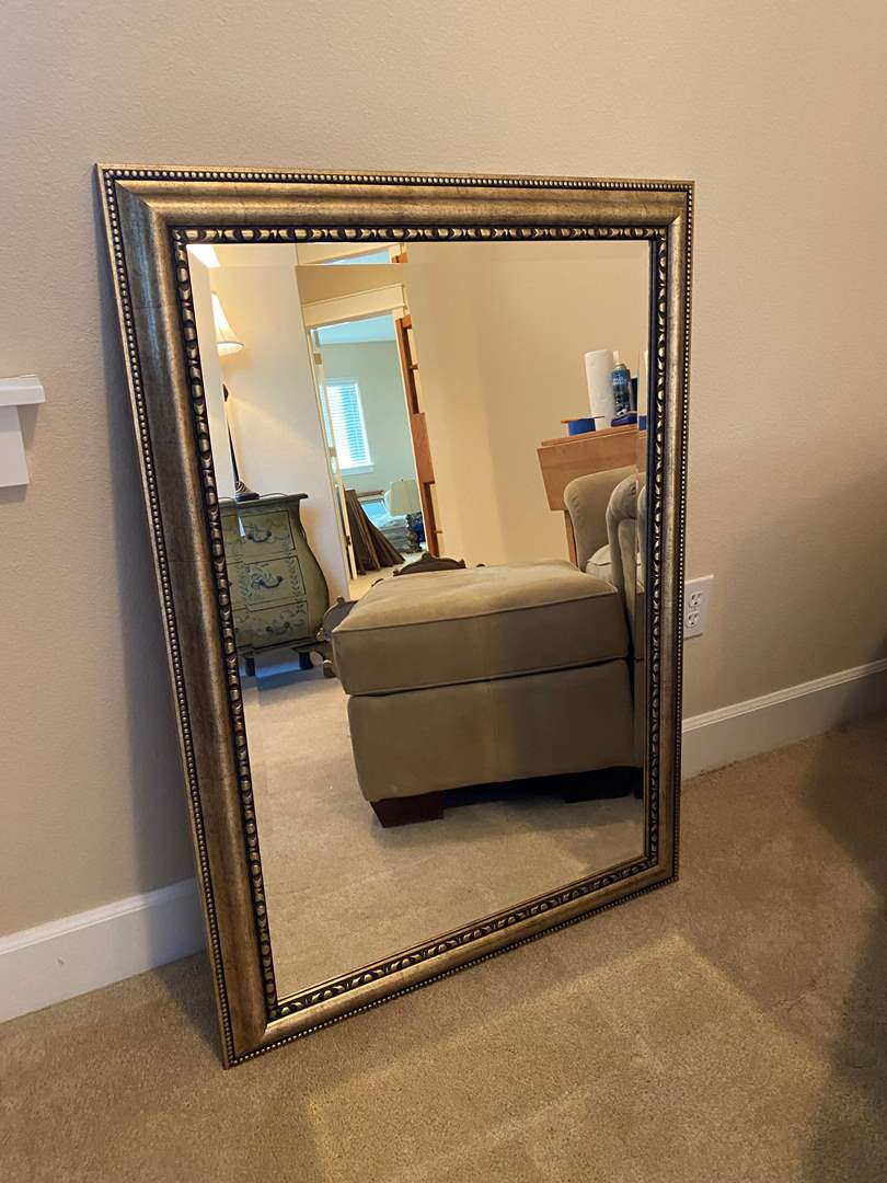 Lot # 32 - Nice Hanging Wall Mirror (main image)
