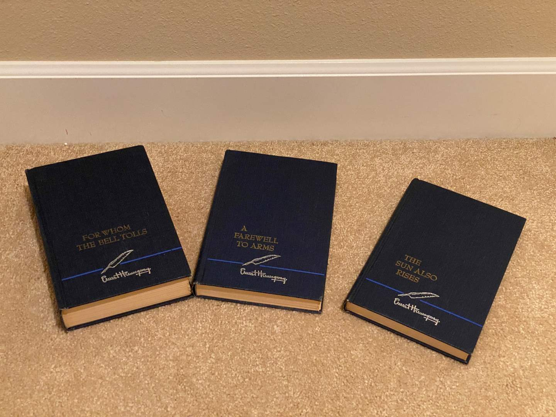 Lot # 152 - Three Vintage Ernest Hemingway Books - Great Condition (main image)