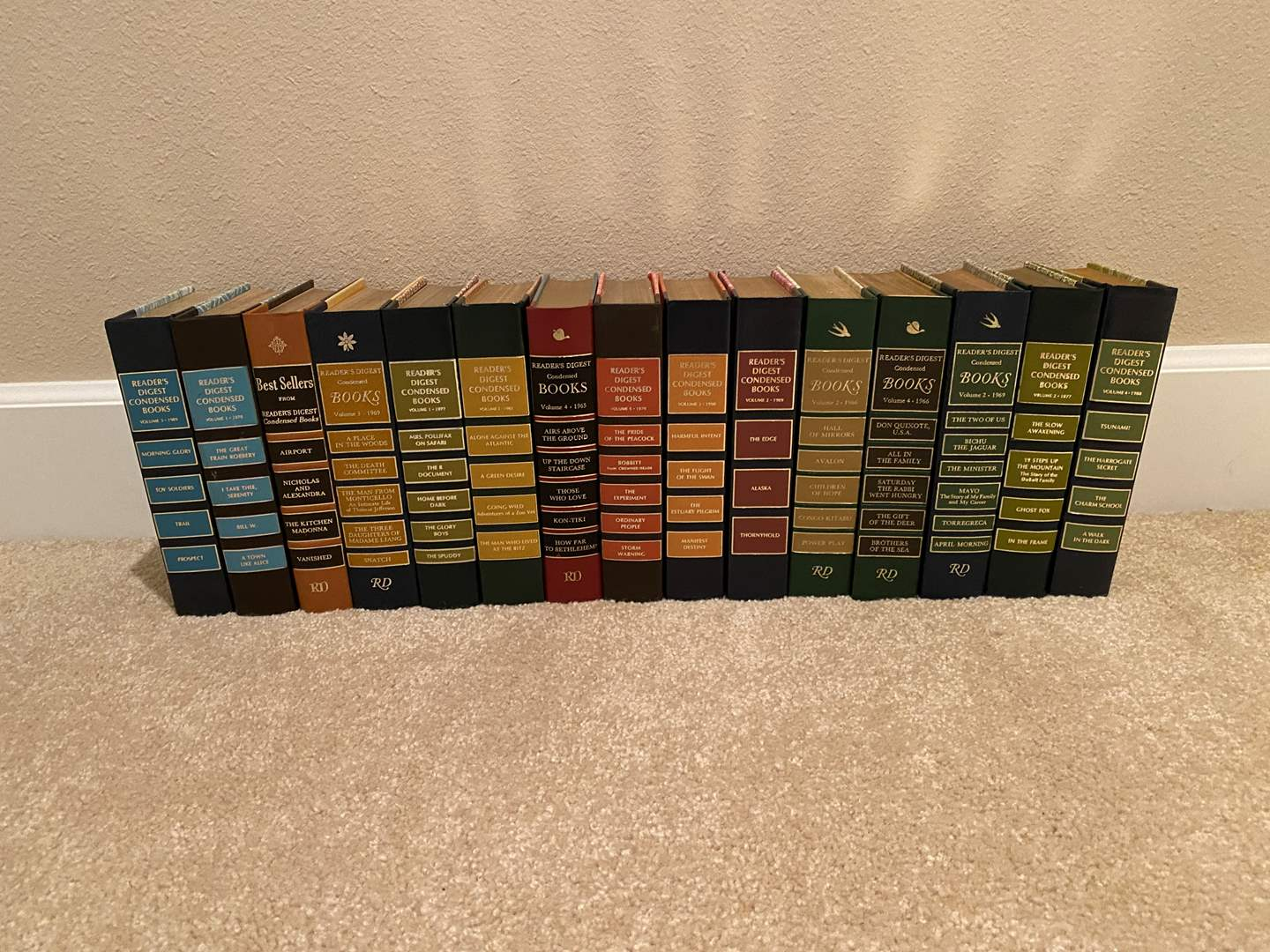 """Lot # 154 - Vintage """"Readers Digest"""" Books - Great Condition (main image)"""