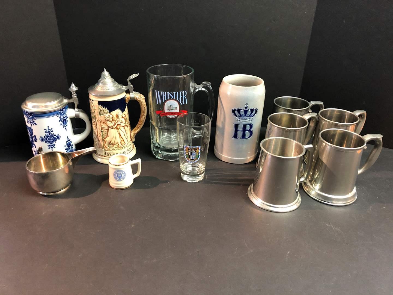Lot # 141 - Selection of German Beer Steins  (main image)