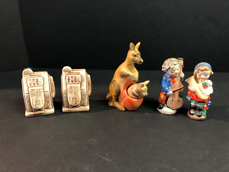 Lot # 144 - Three Vintage Sets of Salt & Pepper Shakers (main image)
