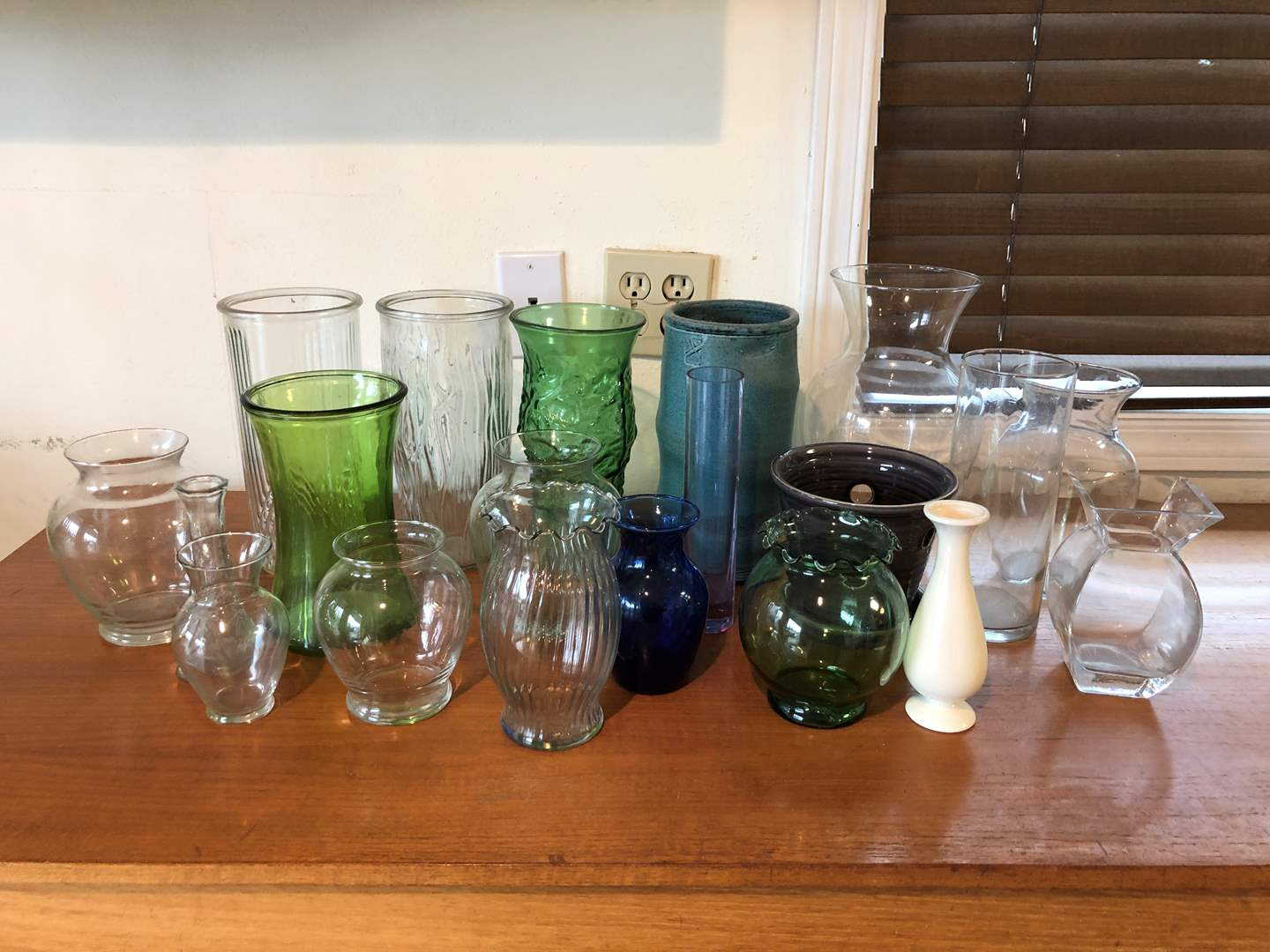 Lot # 156 - Large Selection of Vases  (main image)
