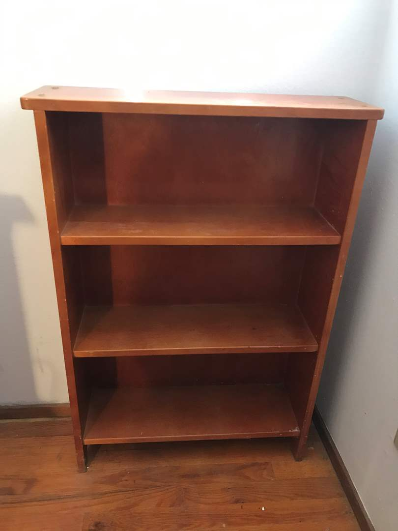 Lot # 90 - Small Wood Bookshelf  (main image)