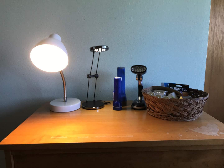 Lot # 107 - Flashlights, Lamps & Batteries  (main image)