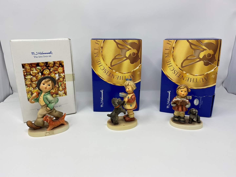 Lot # 24 - Three Goebel Hummels w/Original Boxes - Titles & Details in Description  (main image)
