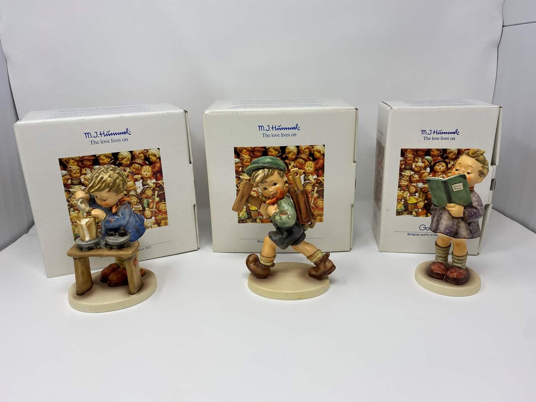 Lot # 25 - Three Hummels w/Original Boxes - See Description for Titles & Details  (main image)