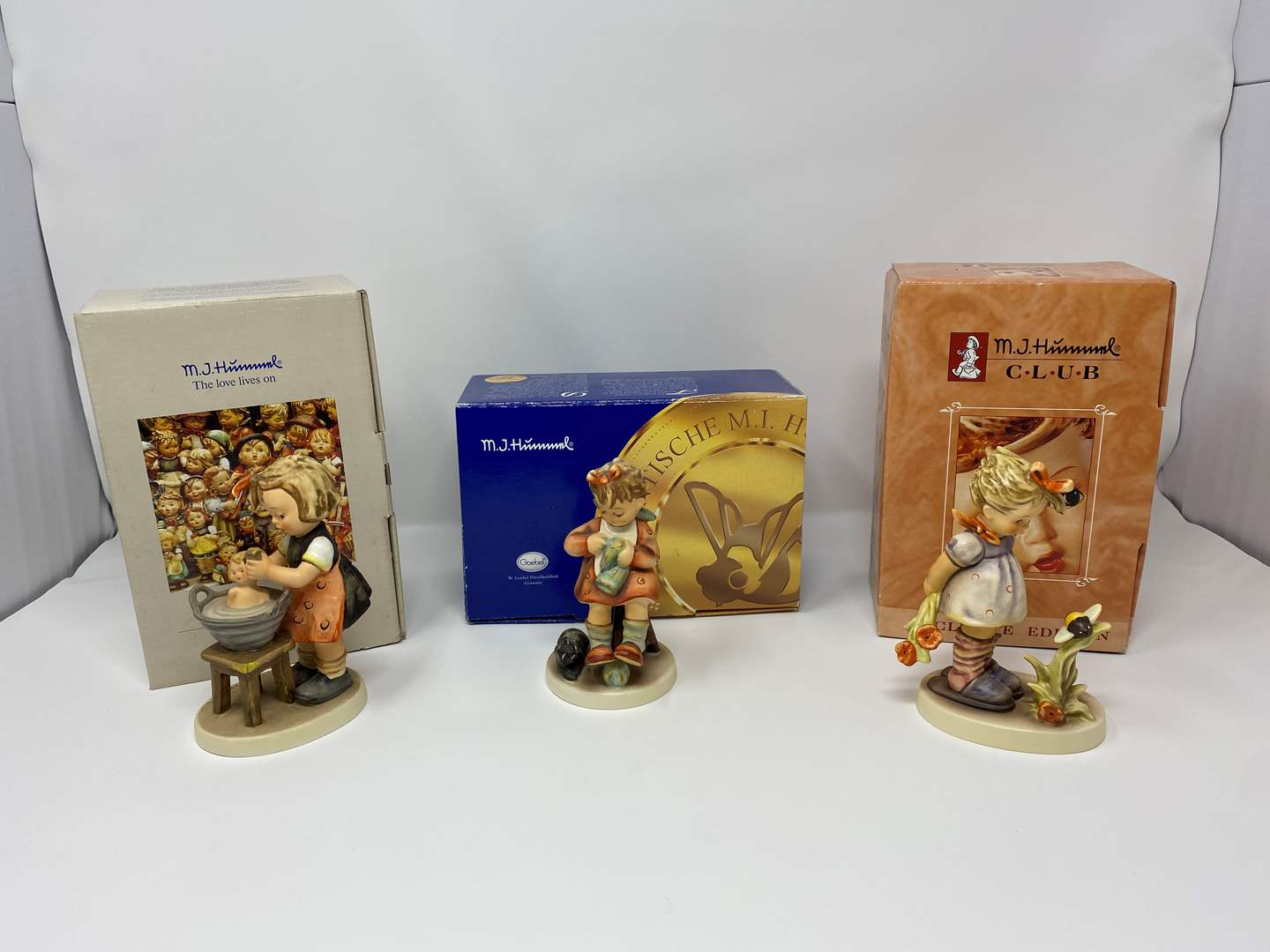 Lot # 27 - Three Hummel's w/Original Boxes - Titles & Details in Description  (main image)