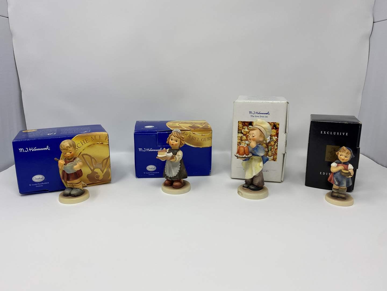 Lot # 29 - Four Hummel's w/Boxes - See Description for Titles & Details  (main image)