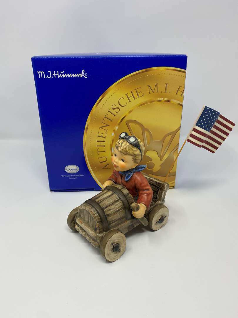 "Lot # 31 - Awesome Hummel w/Original Box - #2197 ""American Spirit""  (main image)"