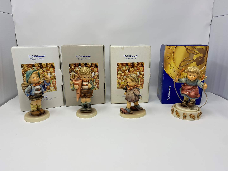 Lot # 40 - Four Vintage Hummels w/Boxes - See Description for Titles & Details (main image)