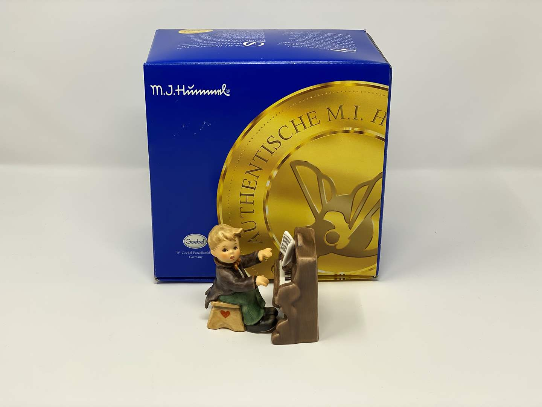 "Lot # 41 - Vintage Hummel w/Original Box - #2257 ""Little Concerto""  (main image)"