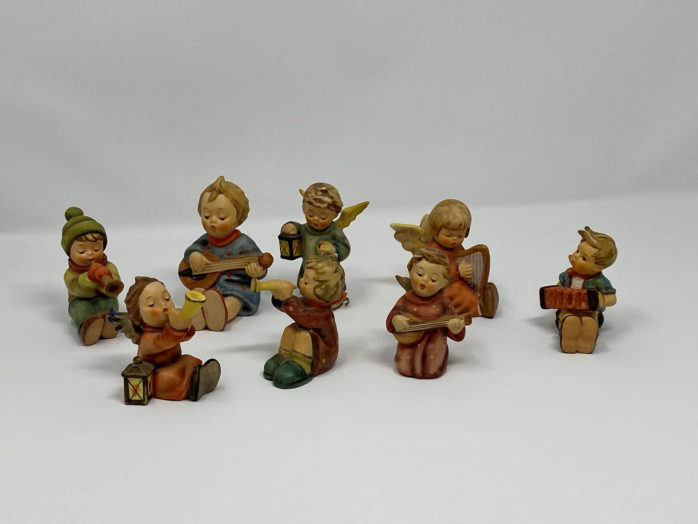 Lot # 47 - Eight Vintage Hummels - See Pictures for Titles & Details  (main image)