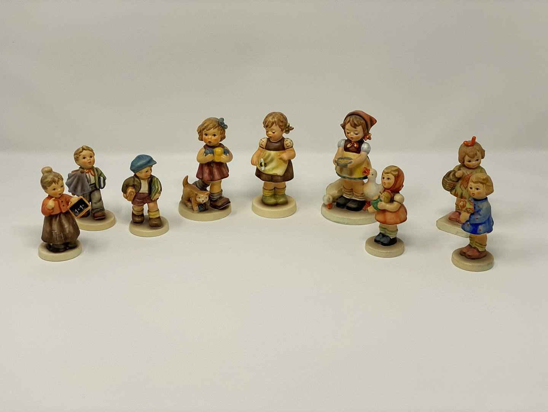 Lot # 49 - Nine Vintage Hummel Figurines - See Pictures for Details  (main image)