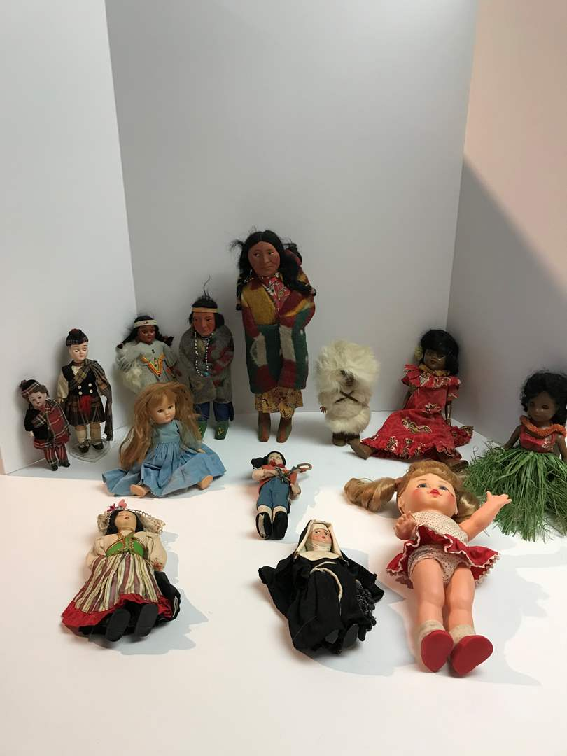 Lot # 202 - Vintage Dolls From Around the World Made w/Bisque, Porcelain, Cloth & More.. (main image)