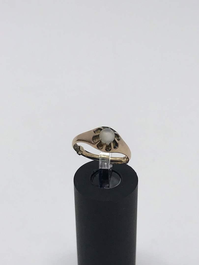 Lot # 223 - 10k Gold Ring - Tested, No Stamp - 1.90Grams (main image)