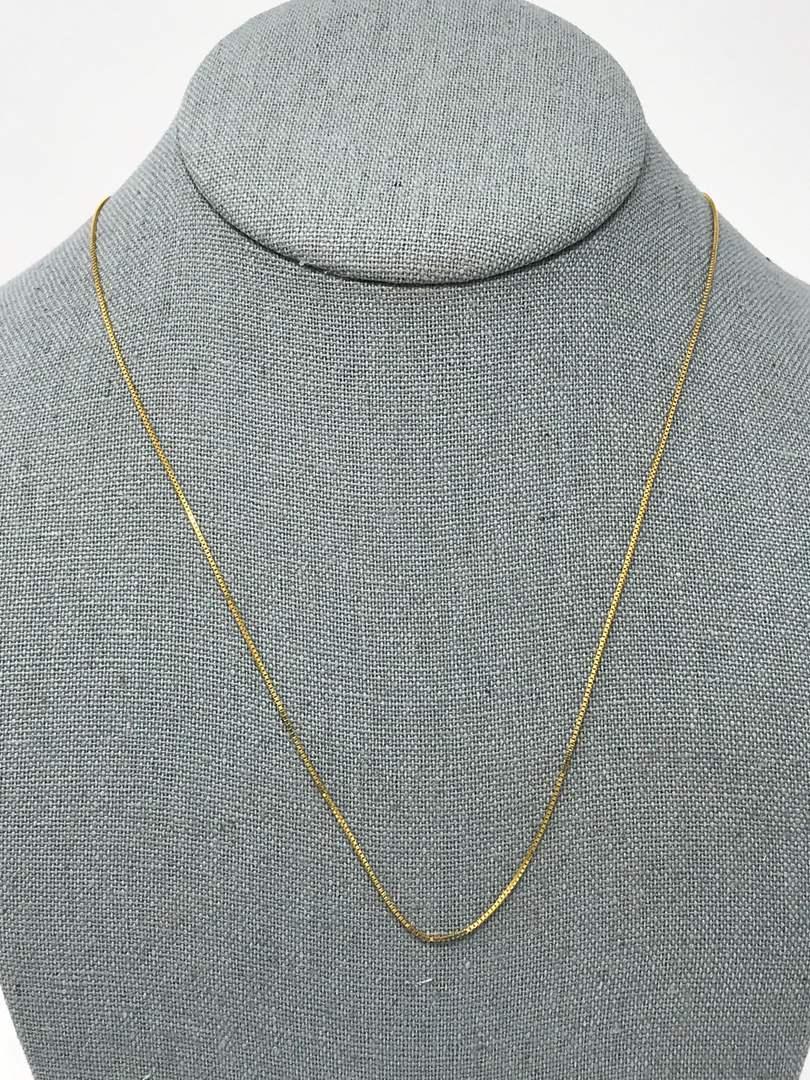 Lot # 227 - 14k Gold Chain - 1.59 Grams  (main image)