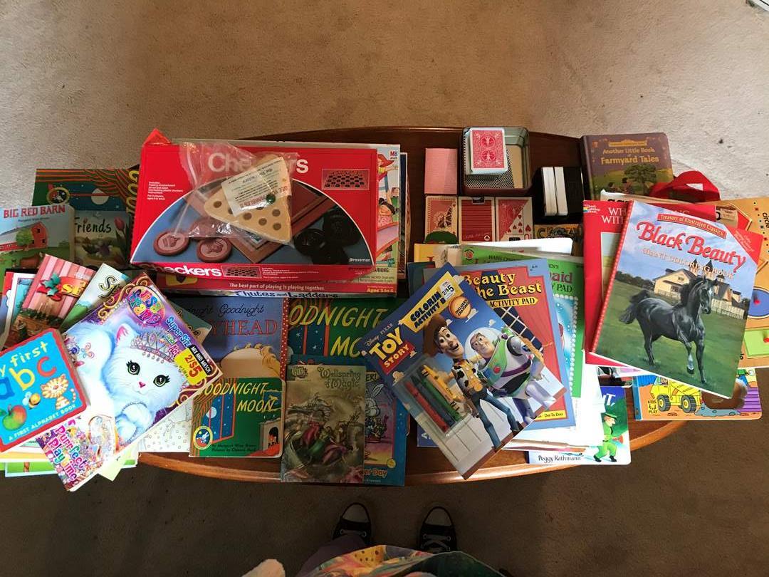 Lot # 123 - Children's Games, Books & Coloring Books (main image)