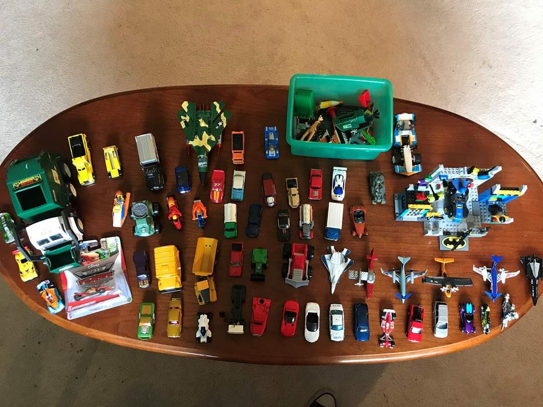 Lot # 125 - Selection of Toy Cars, Trucks, Airplanes & More.. (main image)