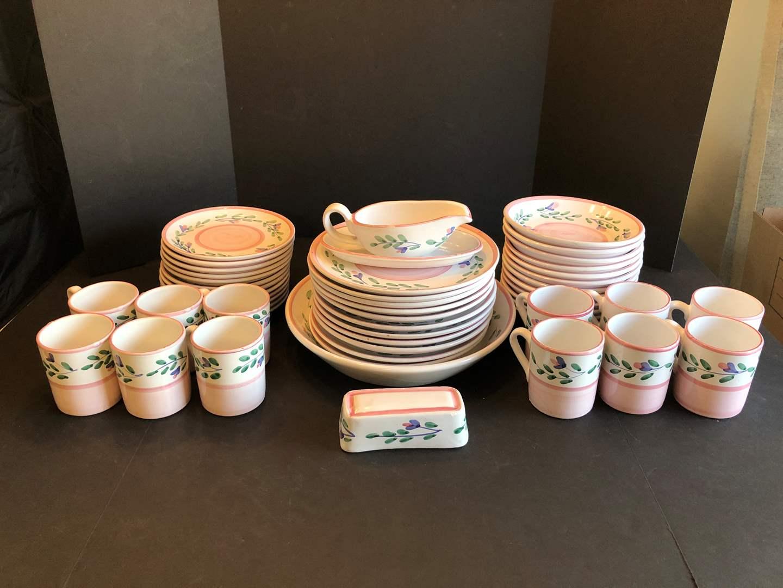 Lot # 50 - 65 Piece Set of CALECA Dinnerware  (main image)