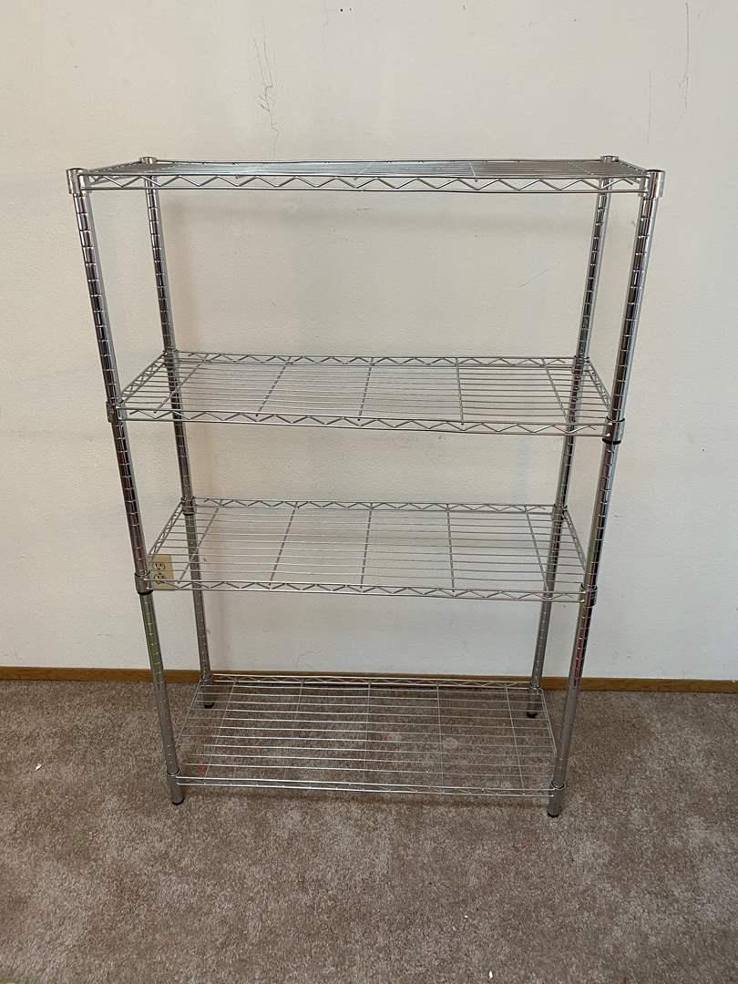 Lot # 3 - Metal NSF Storage Rack  (main image)