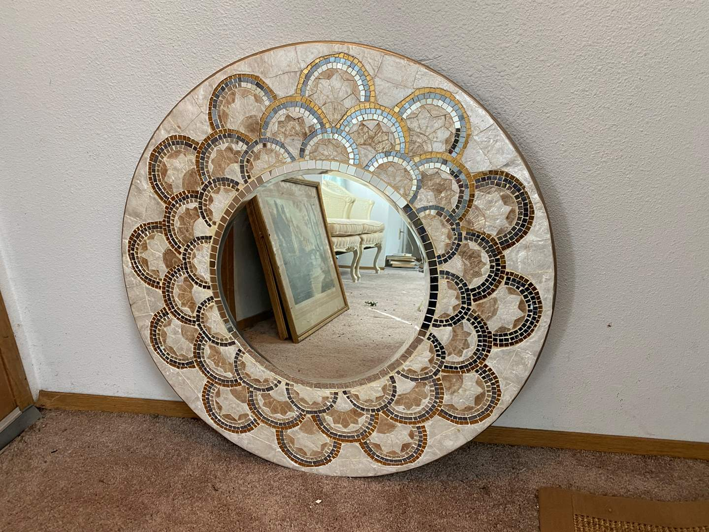 Lot # 10 - Nice Decorative Mirror from Pier-1-Imports  (main image)