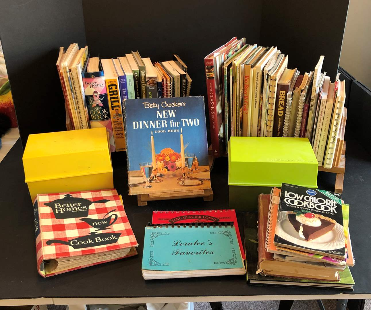 Lot # 124 - Huge Collection of Cook Books - See Pictures for Titles  (main image)