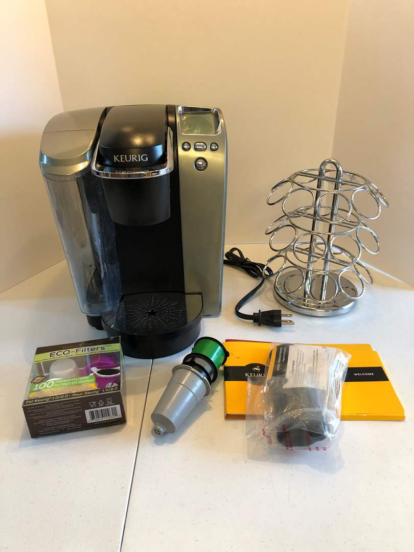 Lot # 142 - Well Used Small Keurig Office Brewer (main image)