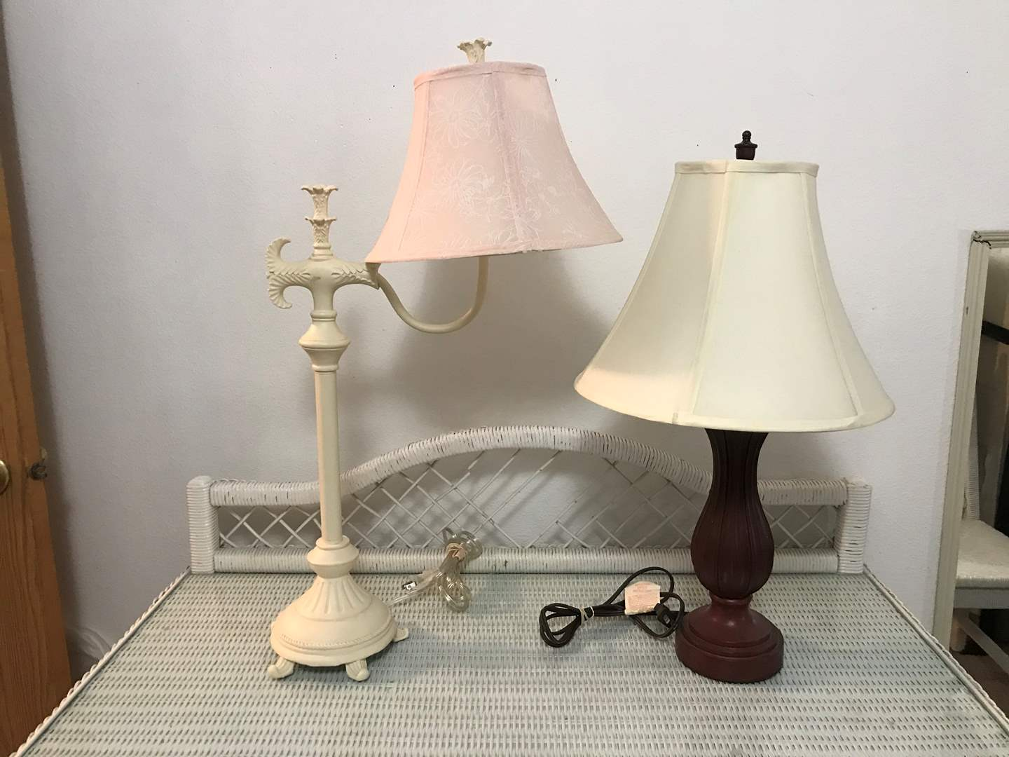 Lot # 92 - Two Nice Lamps - Both Work (main image)