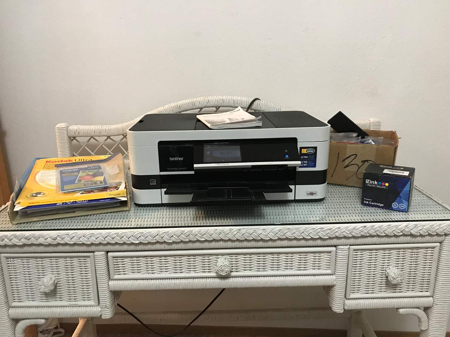 Lot # 95 - Business Smart Series Brother Printer & More.. (main image)