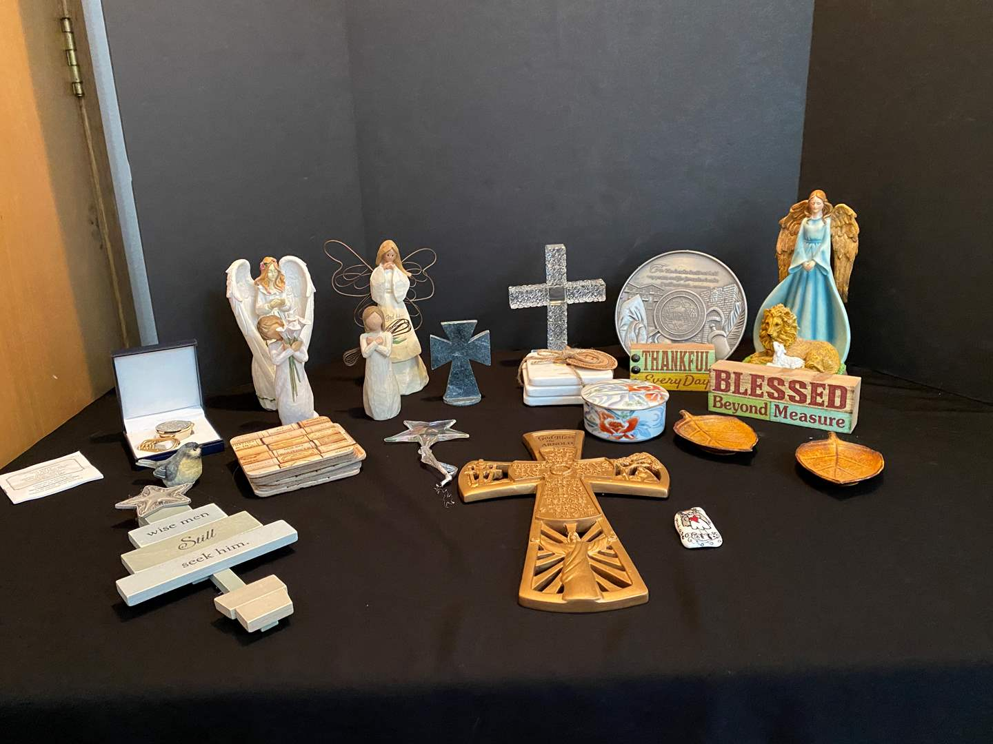 Lot # 22 - Collection of Religious Decor (main image)