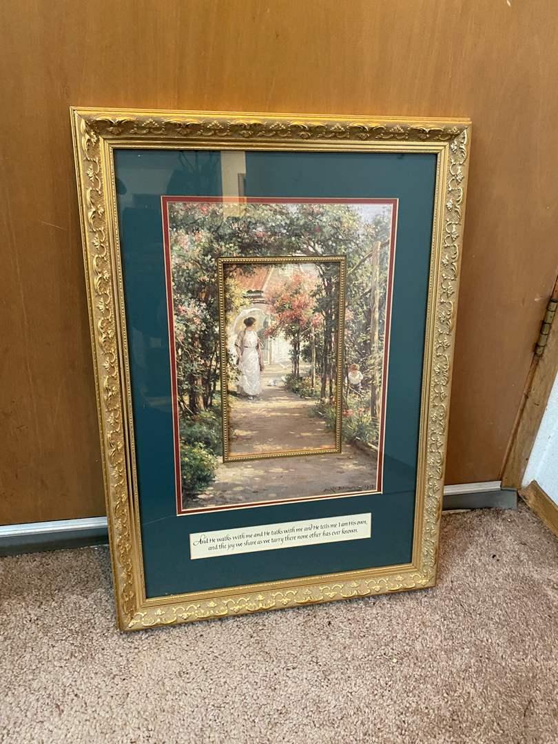 Lot # 45 - Nicely Framed Art Print (main image)