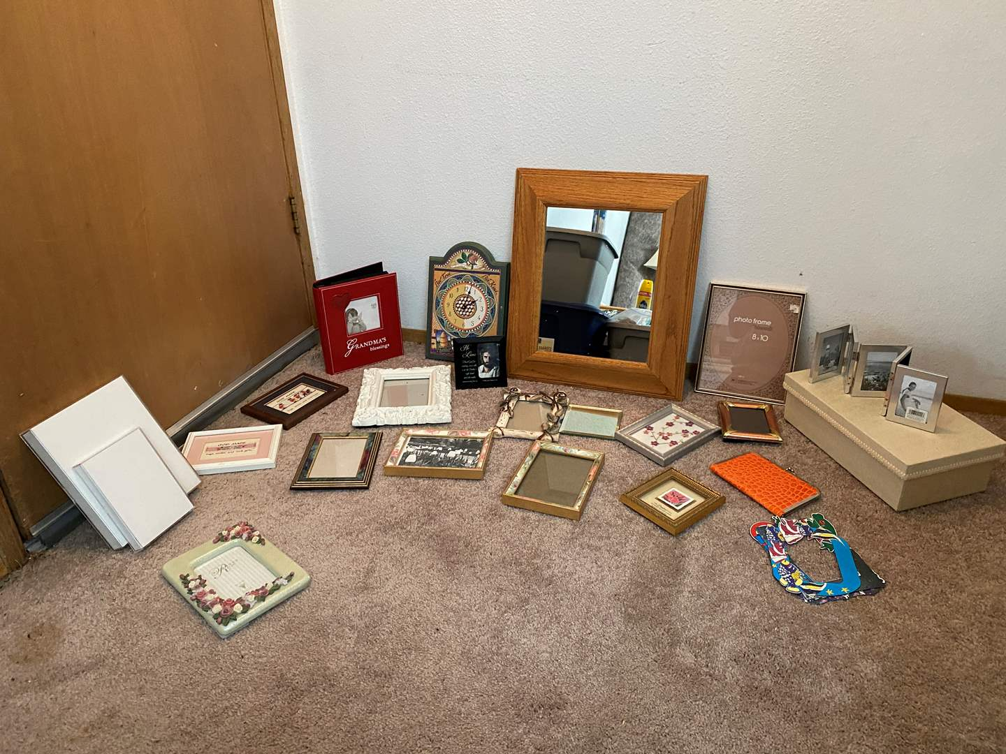 Lot # 47 - Misc. Picture Frames of Various Sizes & More.. (main image)