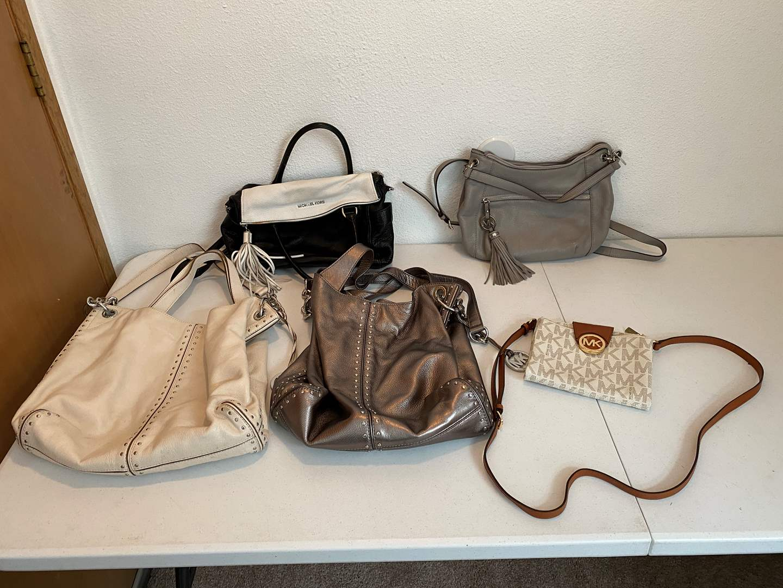 Lot # 181 - Five Michael Kors Handbags (main image)